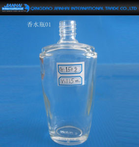 High Flint Material Glass Perfume Bottle pictures & photos