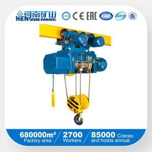 Single Speed Electric Wire Rope Hoist pictures & photos