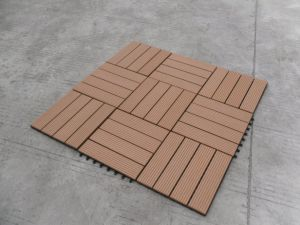 WPC Decking Material for Outdoor Use (outdoor flooring) pictures & photos