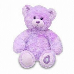 Purple Teddy Bear on Plush Toys For Plush Purple Teddy Bear   China Plush Toy  Plush Bear