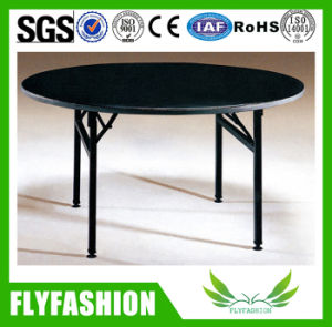 Modern Folding Round Dining Table for Sale (HY-04) pictures & photos