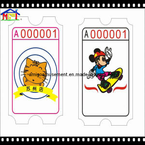 2017 Slot Game Machine Accessory The Ticket for Game Prize pictures & photos