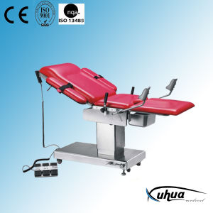 Electric Medical Table for Gynecology and Obstetrics (ET-400B) pictures & photos