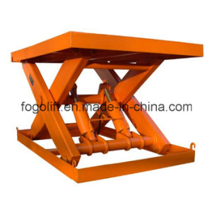 ISO Portable Warehouse Hydraulic for Goods Lift Price Freight Elevator pictures & photos