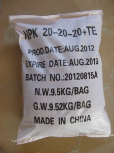 NPK Compound Fertilizer with SGS Test pictures & photos