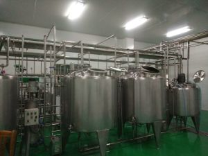 Full Automatic Pasteurized Milk Processing Line pictures & photos