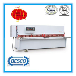 Hydraulic Shear Machine Price, Estun E21s Steel Plate Cutting Machine pictures & photos