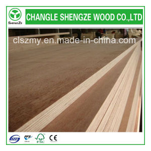 9mm, 12mm Best Price Hardwoodcore Veneered Commercial Plywood pictures & photos