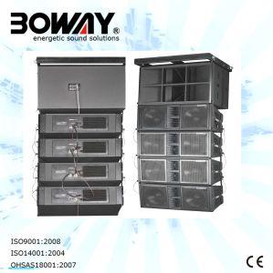 Bw-2123A Active Line Array Sistema De Audio Sonido Caja Del Altavoz Line Array Speaker pictures & photos