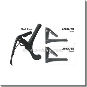 Quality Black Paint Guitar Capo (A007A&A007C) pictures & photos