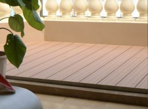 WPC Vinyl Indoor Flooring From China