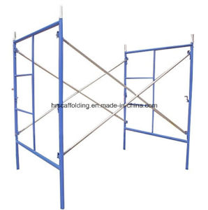 Construction American Walk Through Scaffold Frame /Ladder Frames Scaffolding pictures & photos