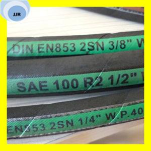 DIN En 853 2sn Wire Braid Hydraulic Hose pictures & photos