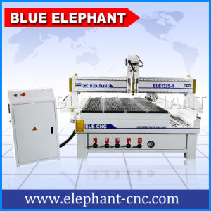 Ele1325 4 Axis Engraving CNC Router Machine for Wood Furniture Engraving pictures & photos