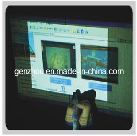 Front Projection Film Combined with Writting by Chalk or by Inkpen