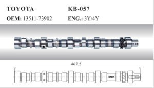 Auto Camshaft for Toyota (13511-73902) pictures & photos