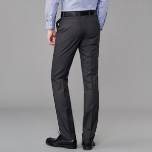 Plus Size Men Latest Design Formal Cotton Pants pictures & photos