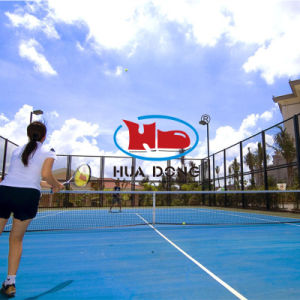 Iaaf Professional Outdoor Rubber Tennis Court Flooring Material pictures & photos