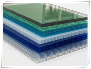 Colourful Twin Wall Corrugated PP Sheet, Corrugated Plastic Sheet pictures & photos