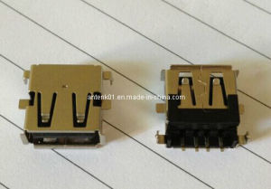 High Quality USB 2.0 Connectors, a Female Sink SMT Type pictures & photos