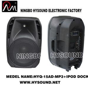 Class D Bi-Amplifiered Speaker (HYQ-15AD-MP3)