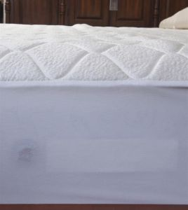 3D Mesh Memory Foam Padding Quilted Latex Mattress Cover pictures & photos