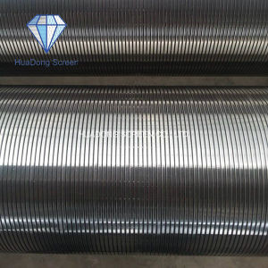 Johnson V/Wedge Wire Wrapped Continuous Slot Water Well Filter Pipe Screen pictures & photos