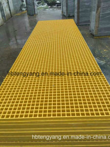 Lowes Walkway Floor Platform Application Smooth Plastic FRP Grating pictures & photos