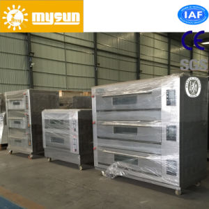 Mysun Gas 9-Tray Deck Oven with CE Ios BV pictures & photos