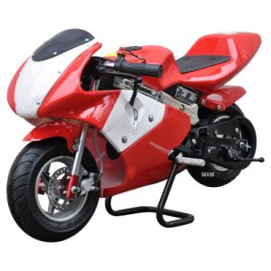 2-Stroke 49cc Gasoline Model Mini Pocket Bike/High Performance