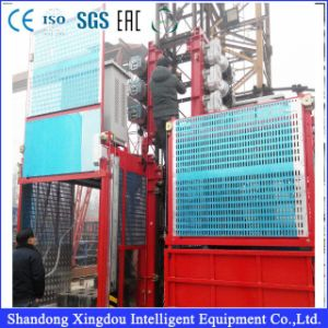 Ce/ISO9001/SGS Certificatesd Electric Gjj Construction Hoist / Construction Lift/Construction Elevator Price pictures & photos