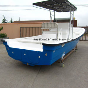 Liya 25ft Panga Fishing Boat Fiberglass Boat with Motor for Sale pictures & photos