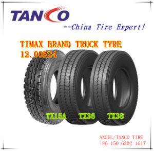 Radial Truck Tyre, TBR Tyre (12.00R24) pictures & photos