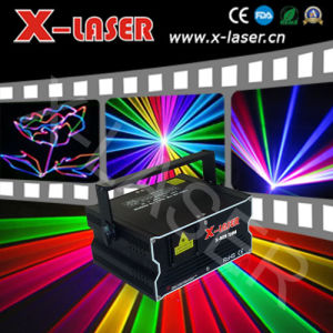 2W Full Color Animation Laser with SD Card Disco Light /DJ Light Controller/Laser Light (X-RGB 720M) pictures & photos