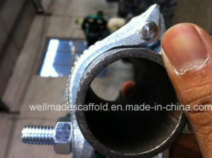 Saudi Aramco Standard Forged Scaffolding Swivel Coupler pictures & photos