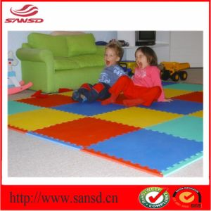 100% Healthy Baby Playing TPE&EVA Foam Sheet Interlocking Mat