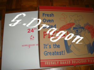 Pizza Boxes, Corrugated Bakery Box (CCB016) pictures & photos