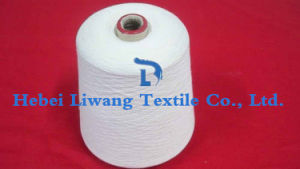 Polyester Yarn Raw White Hand Knitting Yarn