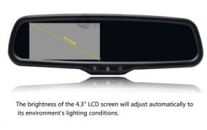 "4.3"" Car Monitor with Auto Dimming Rearview Mirror pictures & photos"