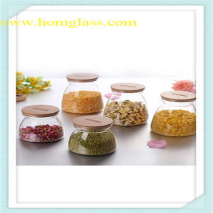 Kitchen Glassware Glass Jar Storage by Heat-Resistant Borosilicate Glass pictures & photos