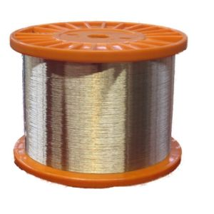 Rubber Hose Wire 0.28mm, Brass Coated Steel Wire pictures & photos