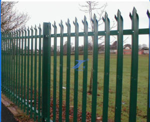 Garden Palisade Fencing with W Type (TS-L142) pictures & photos