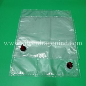 Transparent Bag in Box with Butterfly Tab pictures & photos
