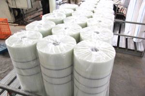145g White Alkali-Resistant Fiberglass Mesh for Building Material pictures & photos