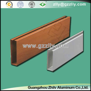 Building Material Quadrate-Pipe Baffle Ceiling of Aluminum pictures & photos