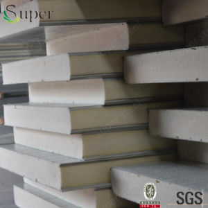 Steel Polyurethane PU Sandwich Panel for Wall and Roof pictures & photos