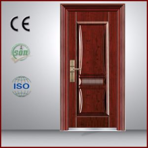 Malaysia in High Quality Steel Security Doors with Sun Protection in China pictures & photos