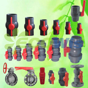 Plastic High Quality Compact PVC Ball Valve pictures & photos