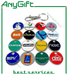 Trolley Token Keyring with Customized Logo 59 pictures & photos