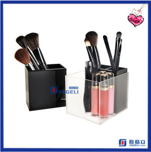 Hot Sale Mini Home Storage Acrylic Brush Container Cosmetic Display pictures & photos